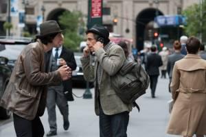 While We're Young: Adam Driver (Jamie) en Ben Stiller (Josh)