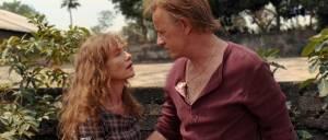 White Material: Isabelle Huppert (Maria) en Christopher Lambert (André Vial (as Christophe Lambert))