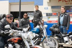 John Travolta, Martin Lawrence, William H Macy en Tim Allen in Wild Hogs