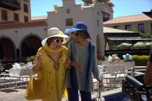 Shirley MacLaine (Eva Miller) en Jessica Lange (Maddie)