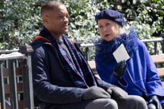 Will Smith en Helen Mirren in Collateral Beauty