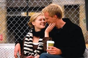 Wimbledon: Paul Bettany (Peter Colt) en Kirsten Dunst (Lizzie Bradbury)