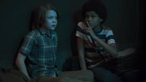 Wonderstruck: Oakes Fegley (Ben) en Jaden Michael (Jamie)