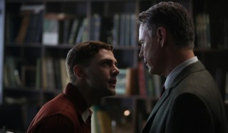 Xavier Dolan en Bruce Greenwood (I) in Elephant Song