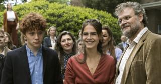 Thor Braun, Olivia Lonsdale en Yorick van Wageningen in De Belofte van Pisa