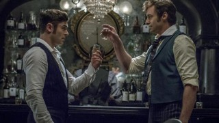 Zac Efron en Hugh Jackman in The Greatest Showman