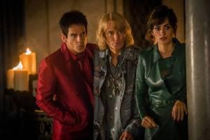 Zoolander 2: Ben Stiller (Derek Zoolander), Owen Wilson (Hansel) en Penélope Cruz (Valentina)