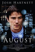 August (2008) poster