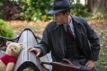 Christopher Robin (Ewan McGregor) with his longtime friend Winnie the Pooh in Disney?s CHRISTOPHER ROBIN., © 2018 Disney Enterprises, Inc.  All Rights Reserved..