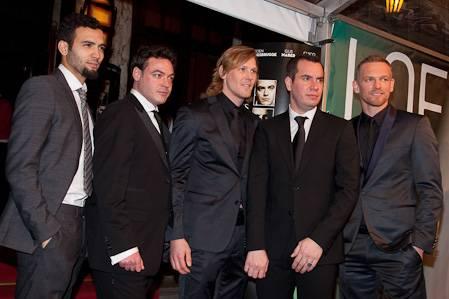 De mannelijke cast van Loft. (c) Arjo Frank, 2011