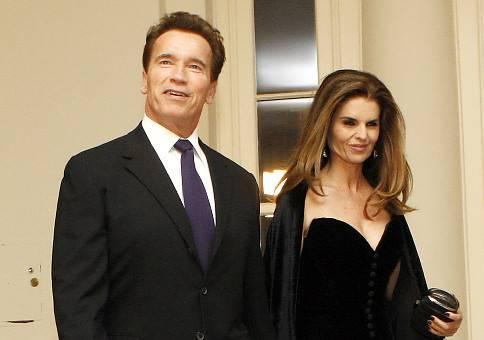 Arnold Schwarzenegger en Marie Shriver