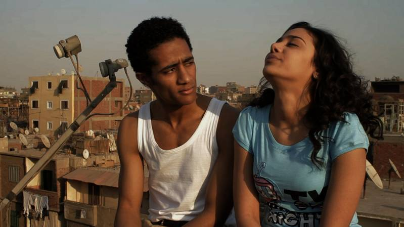 Still uit Cairo Exit, openingsfilm van het festival