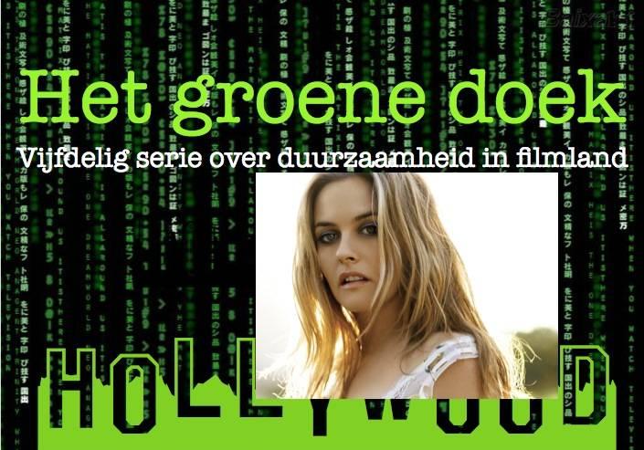 Actrice Alicia Silverstone ontpopt zich steeds meer als een milieu activist. Zij is een bekende vegetariër die naakt poseerde voor een PETA-campagne.