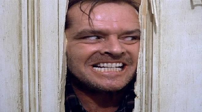 Nicholson in The Shining.