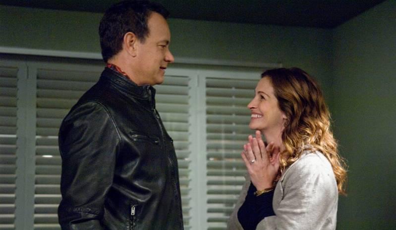 Tom Hanks en Julia Roberts in Larry Crowne.