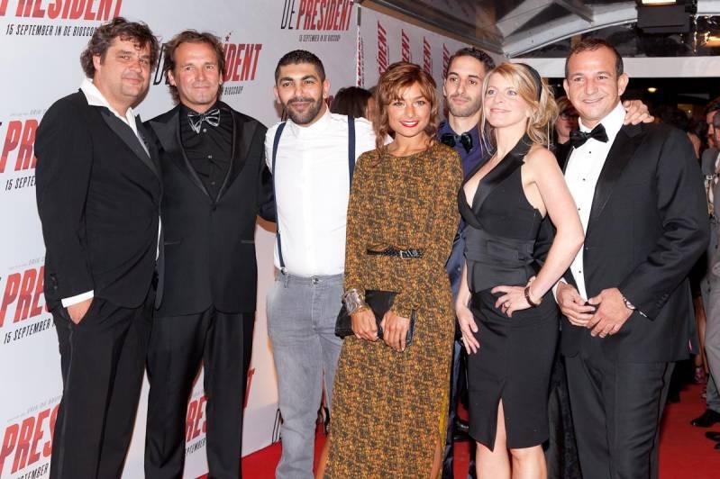 De cast van de film (c) Arjo Frank/Biosagenda 2011