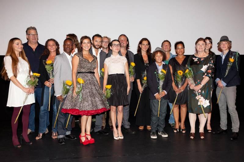 Cast en crew van Lotus (c) Arjo Frank/Biosagenda