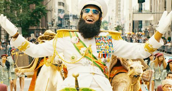 Sacha Baron Choen als the Dictator