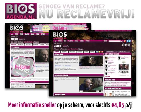 Reclamevrij BiosAgenda.nl? Dat kan!