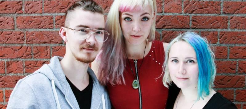 Regisseur Jesse Verweijen, producent Maan Limburg en producent Eva Tulip Dekker