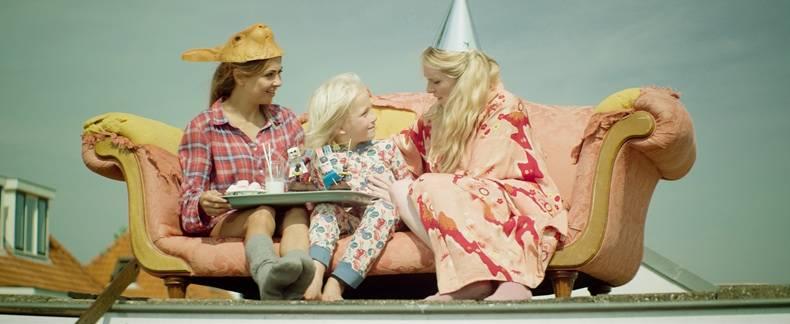Verbaan en Van Houten in familiefilm