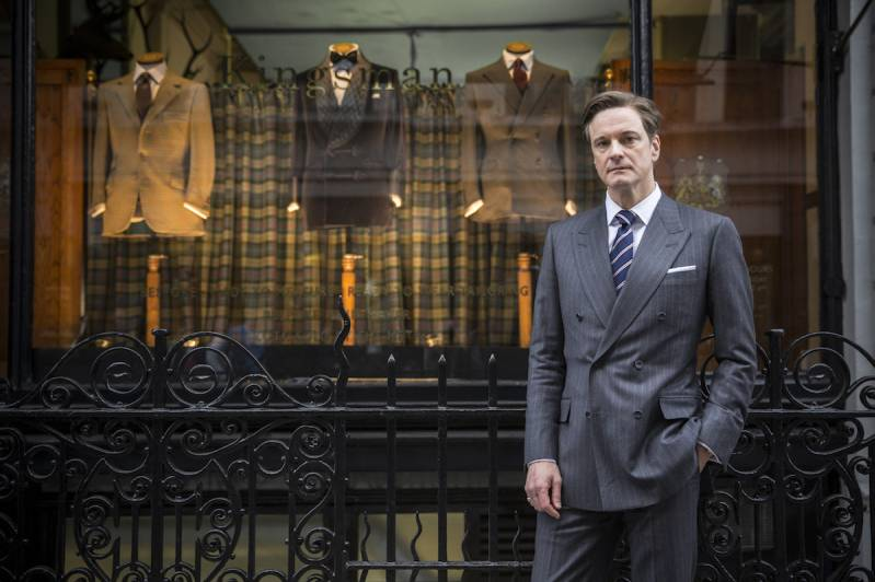 Colin Firth in Kingsman: The Secret Service (c) Warner Bros