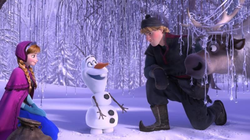 Frozen 2 in de maak