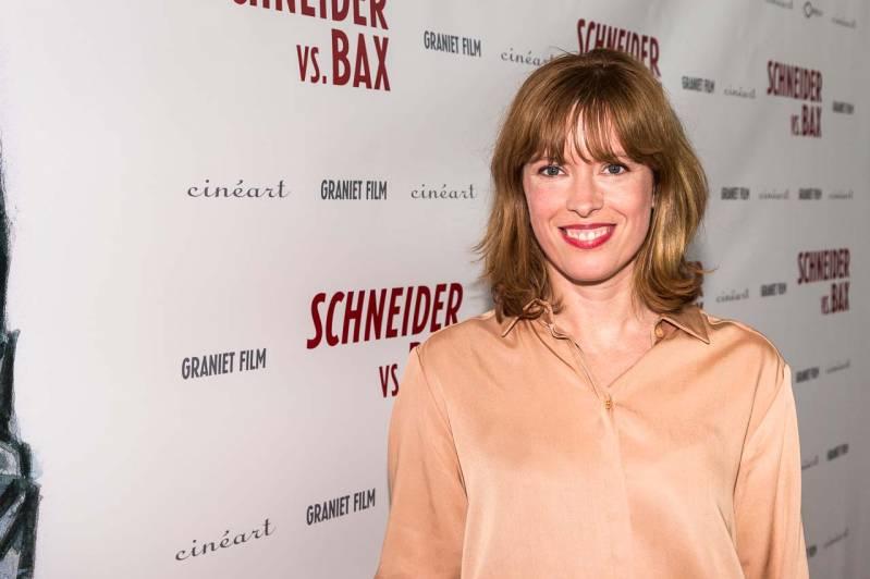 Maria Kraakman bij de première Schneider vs. Bax, Copyright 2015 ArjoFrank Fotografie