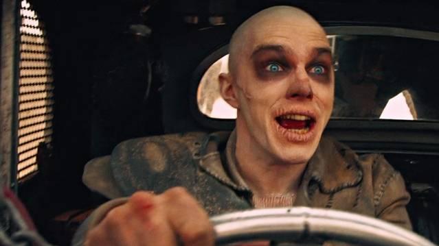 Nicholas Hoult in Mad Max - Fury Road