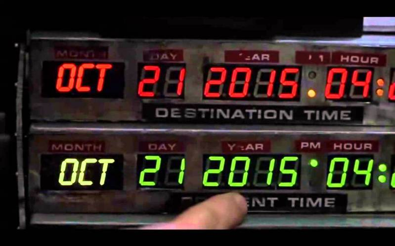 Back To The Future marathon in bioscopen