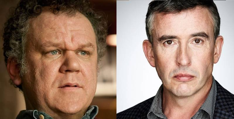 John C. Reilly (links) en Steve Coogan