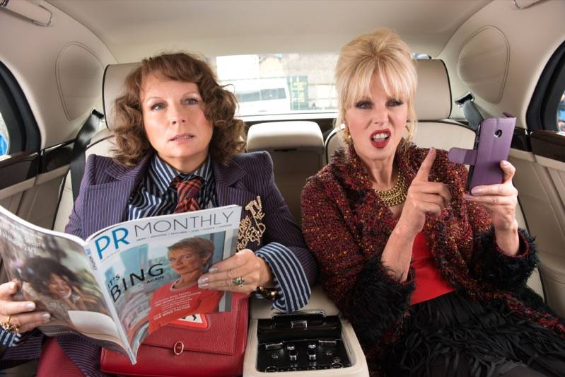 Absolutely Fabulous: The Movie recensie
