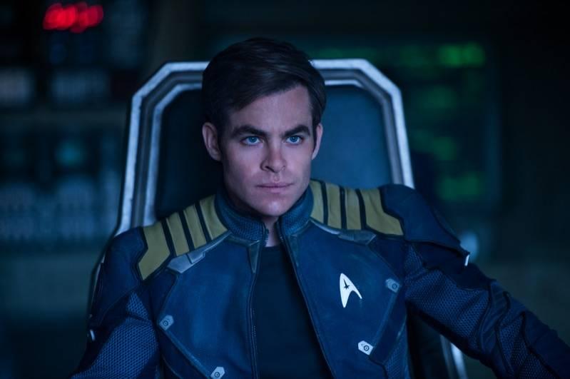 Chris Pine als Captain Kirk