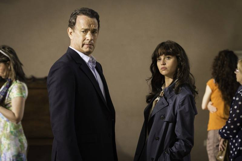 Tom Hanks and Felicity Jones star in Columbia PIctures' &qout;Inferno.&qout;, (c) 2016 CTMG, Inc. All rights reserved.