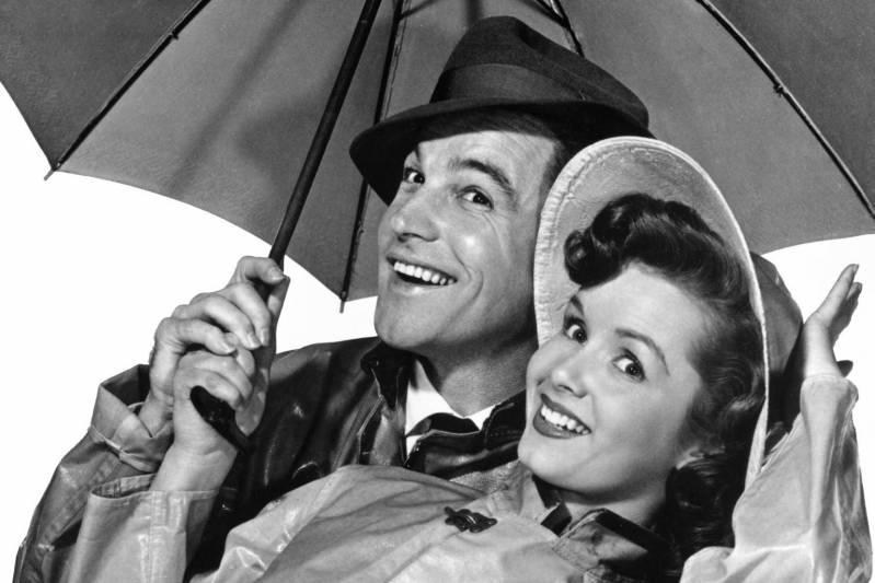 Debbie Reynolds en Gene Kelly in Singin' in the Rain