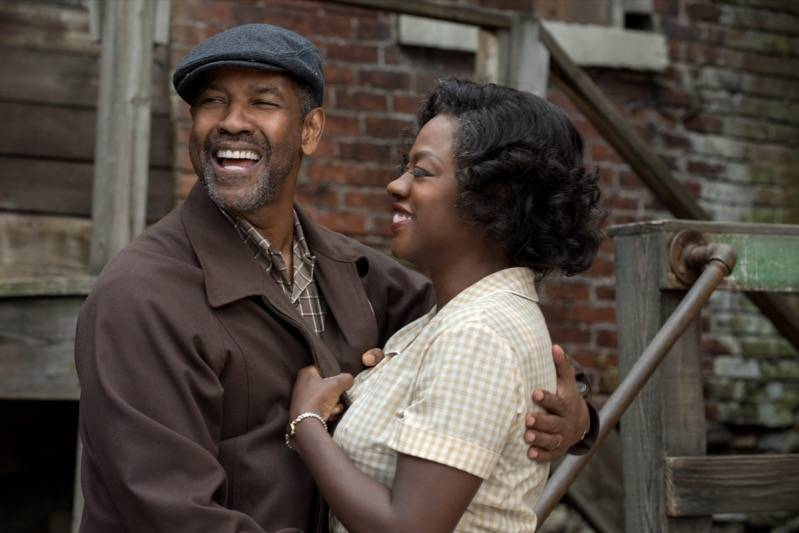 Denzel Washington en Viola Davis in Fences © 2016 Paramount Pictures