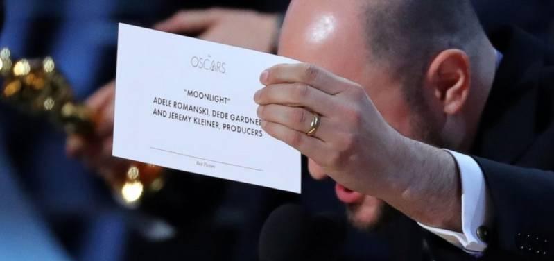Moonlight wint Oscar: verkeerde winnaar uitgeroepen