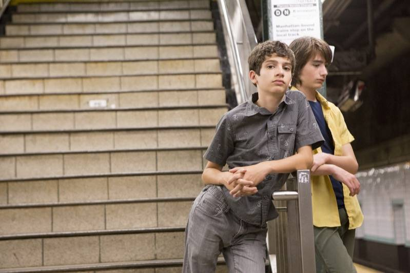 Theo Taplitz en Michael Barbieri in Little Men (c) September Film