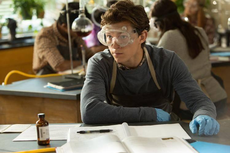 Tom Holland als Peter Parker/Spider-Man