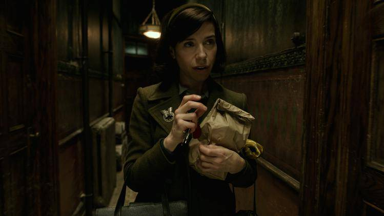Sally Hawkins in the film THE SHAPE OF WATER. Photo courtesy of Fox Searchlight Pictures. ©