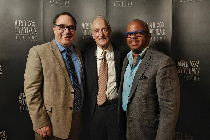 Joe Kraemer, David Shire en Terence Blanchard © Film Fest Gent
