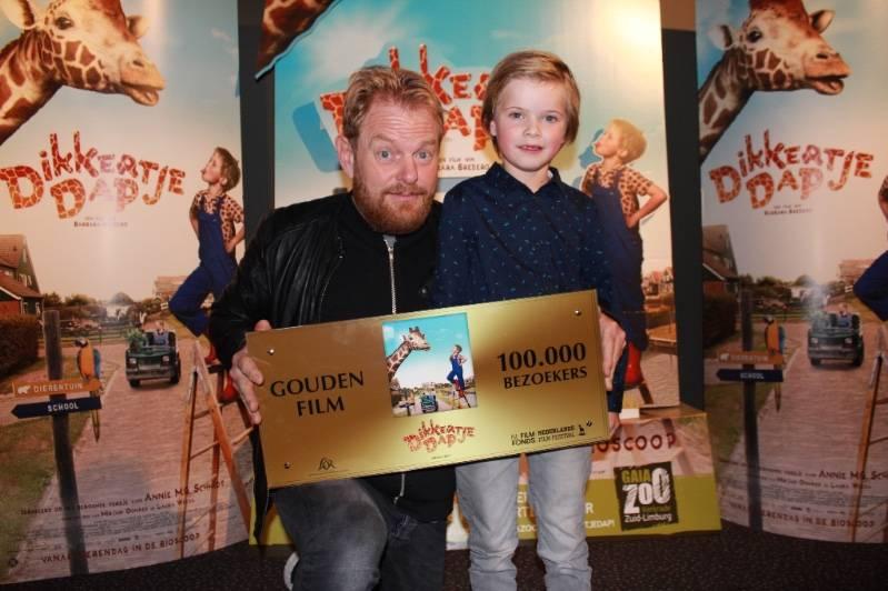 Martijn Fisher en Liam de Vries vrijdag 20-10-2017 in Kinepolis Jaarbeurs © 2017 Nederlands Film Festival