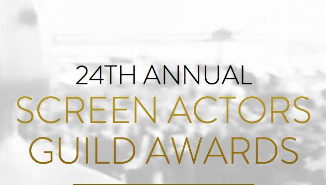 Nominaties 24e Screen Actors Guild Awards