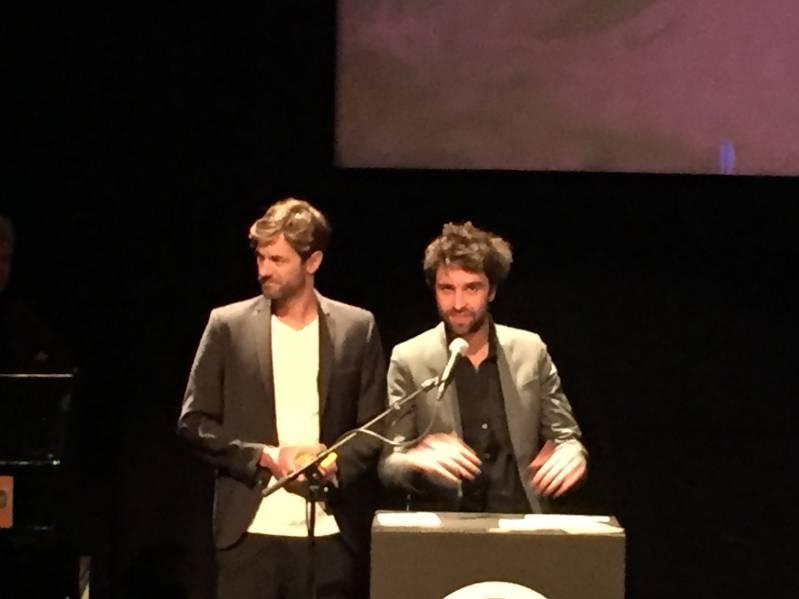 Jan Verdijk en Kurt Platvoet gingen zelf met 3 awards naar huis © BiosAgenda.nl