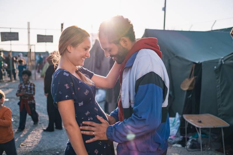 Melody Klaver en Nabil Mallat in 'Rafaël'