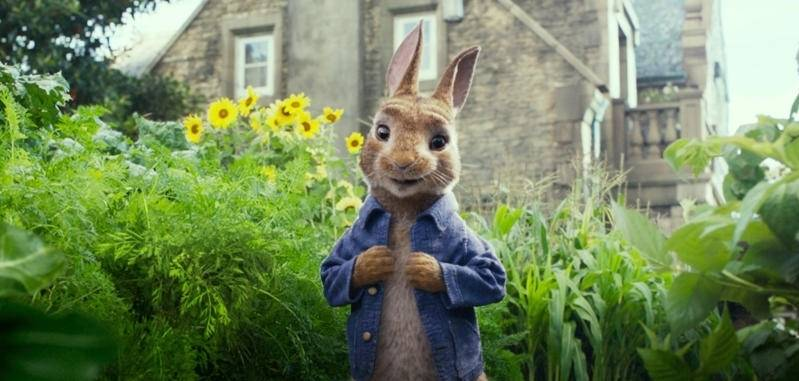 Peter Rabbit is een rebelse rakker.