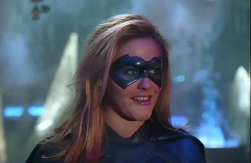 Alicia Silverstone speelde de rol van Batgirl in 'Batman & Robin' (1997).
