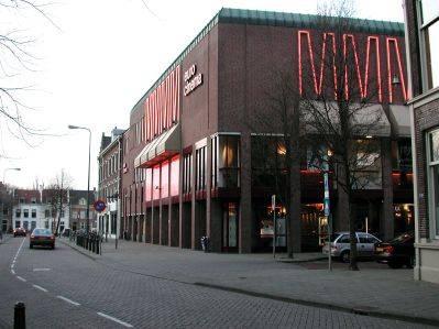 De Vue-bios in Den Bosch, waar de finale toevallig niet vertoond zal worden.