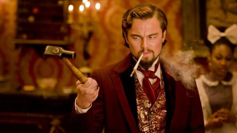 DiCaprio in Django Unchained (2013).