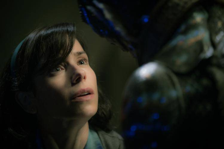 Sally Hawkins in the film THE SHAPE OF WATER. Photo by Kerry Hayes. © 2017 Twentieth Century Fox Film Corporation All Rights Reserved